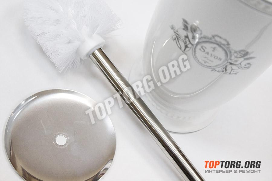 керамический напольный туалетный ершик для унитаза