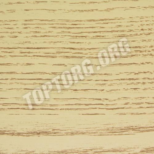 Стол кухонный - цвет бежевый с коричневой патиной