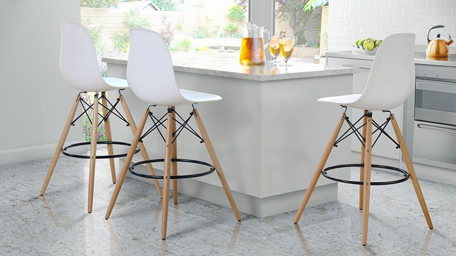 барный дизайнерский стул Eames DSW