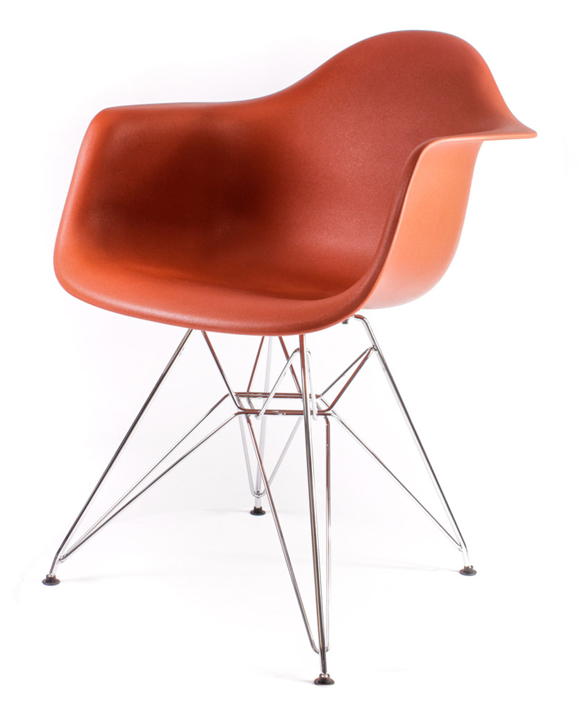 кирпичный дизайнерский стул Eames DAR