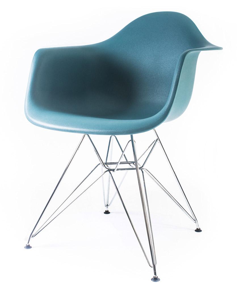 дизайнерский стул Eames DAR цвет морской волны