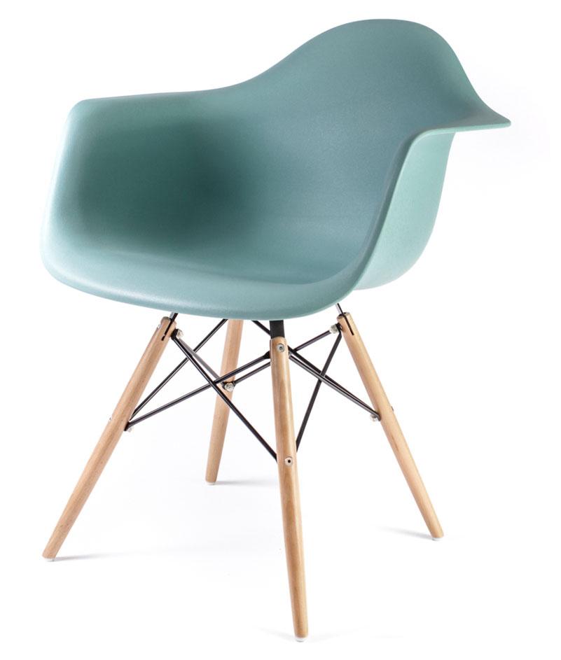 дизайнерский стул Eames DAW цвет мята