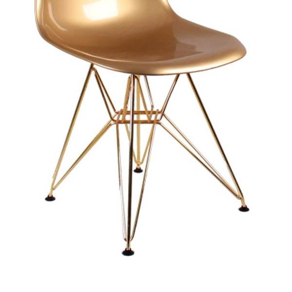 стул Eames DSR золото