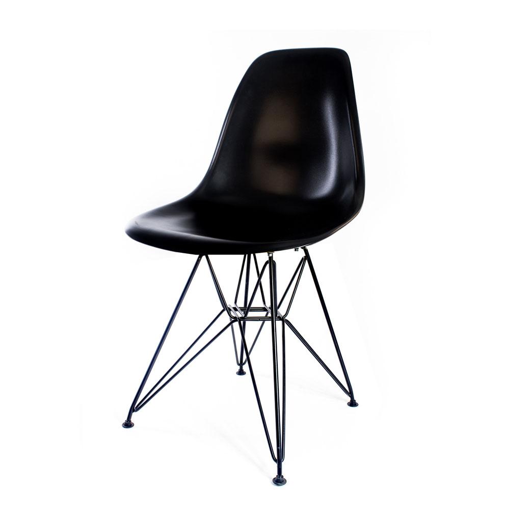 стул Eames DSR черный