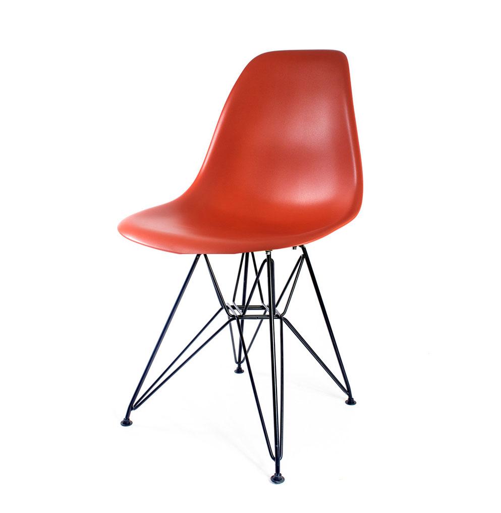 стул Eames DSR кирпичный
