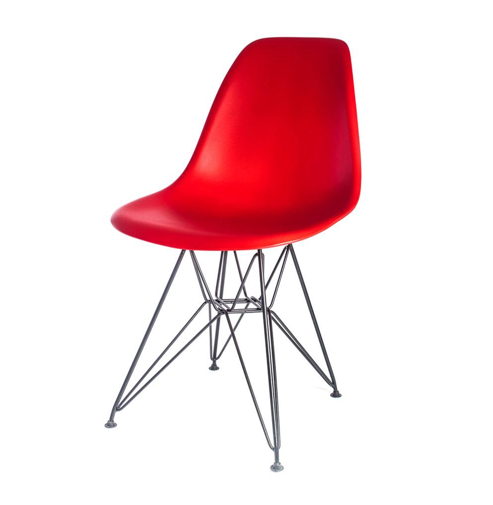 стул Eames DSR красный