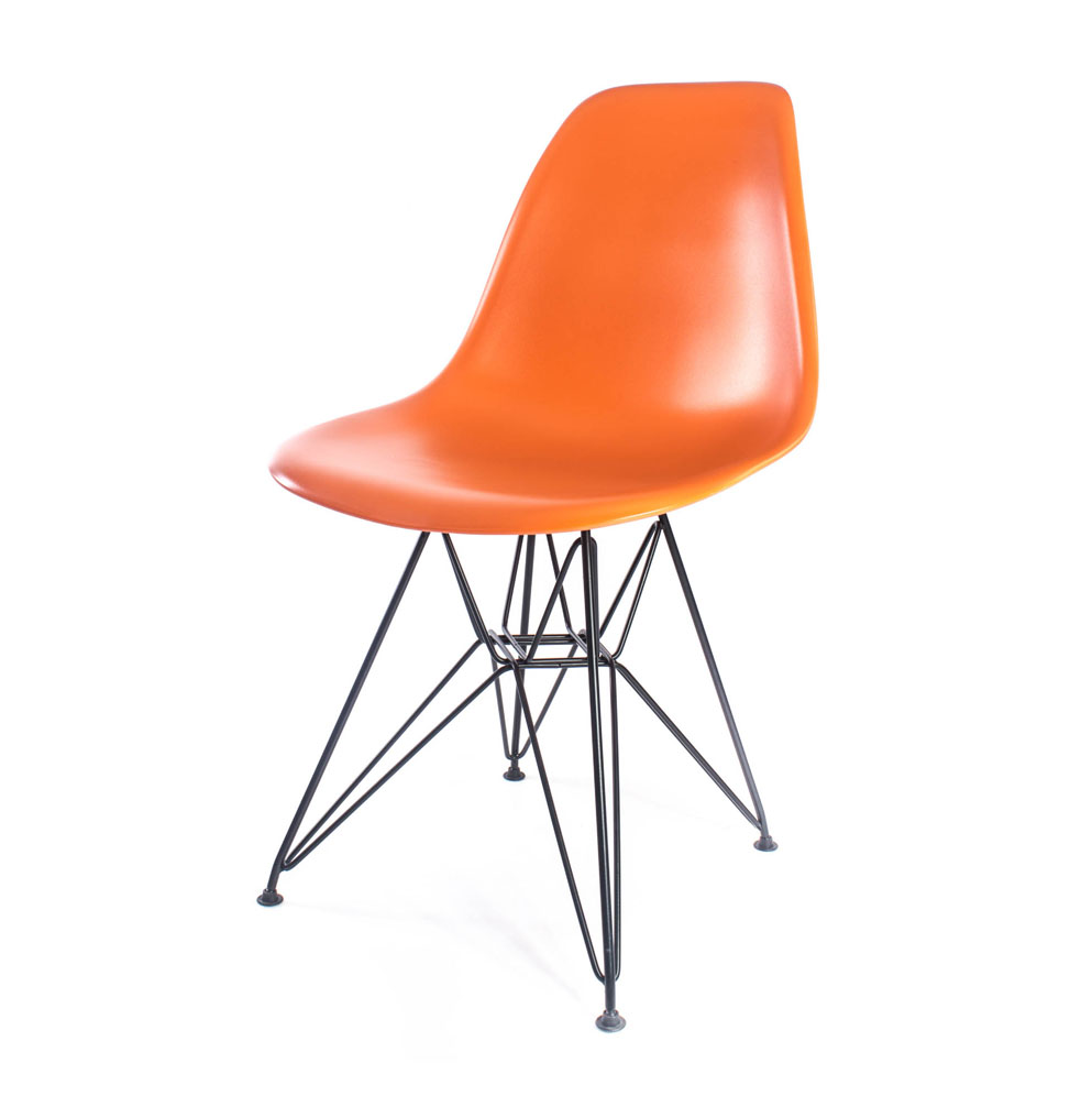 стул Eames DSR оранжевый
