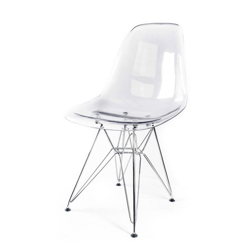 стул Eames DSR прозрачный
