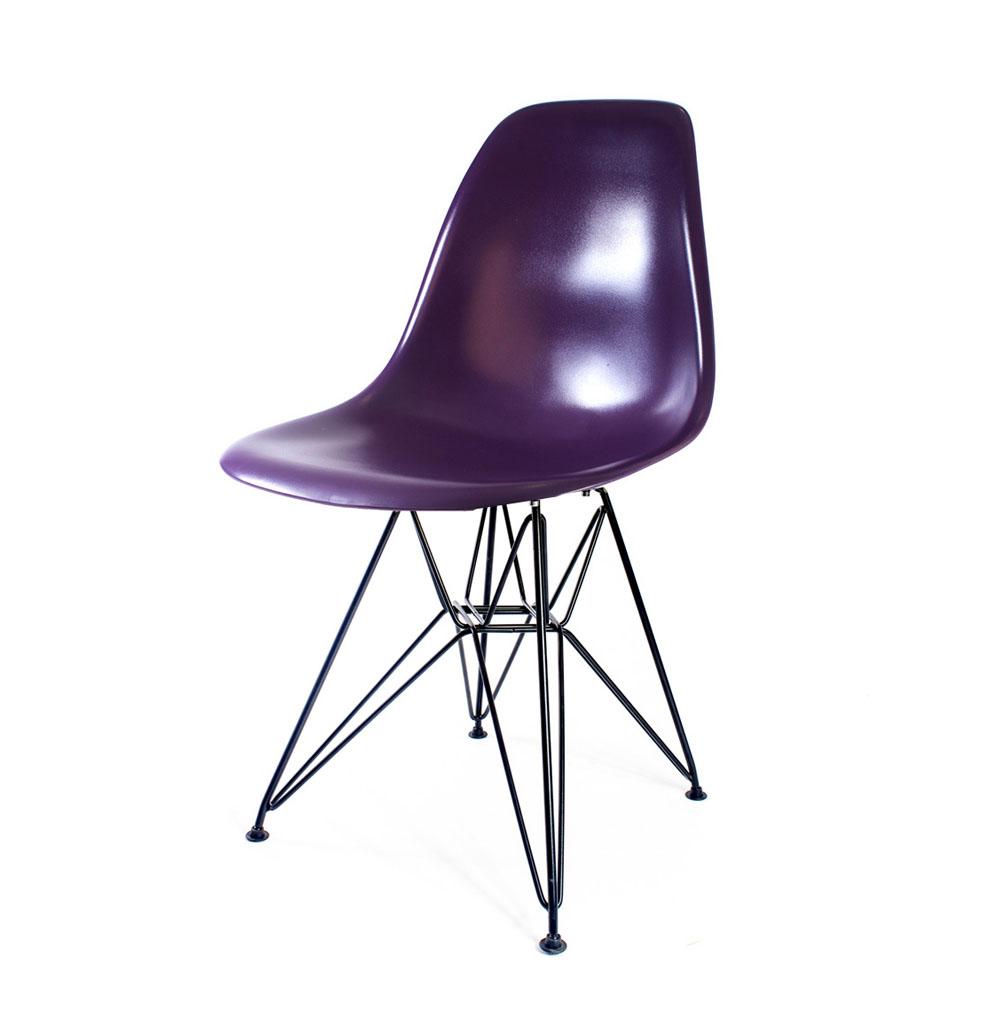 стул Eames DSR пурпурный
