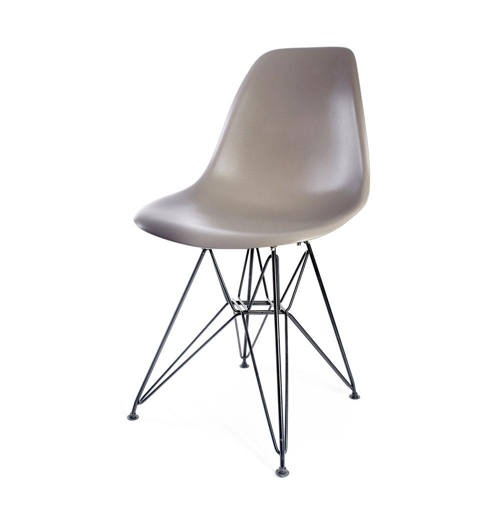 стул Eames DSR серый