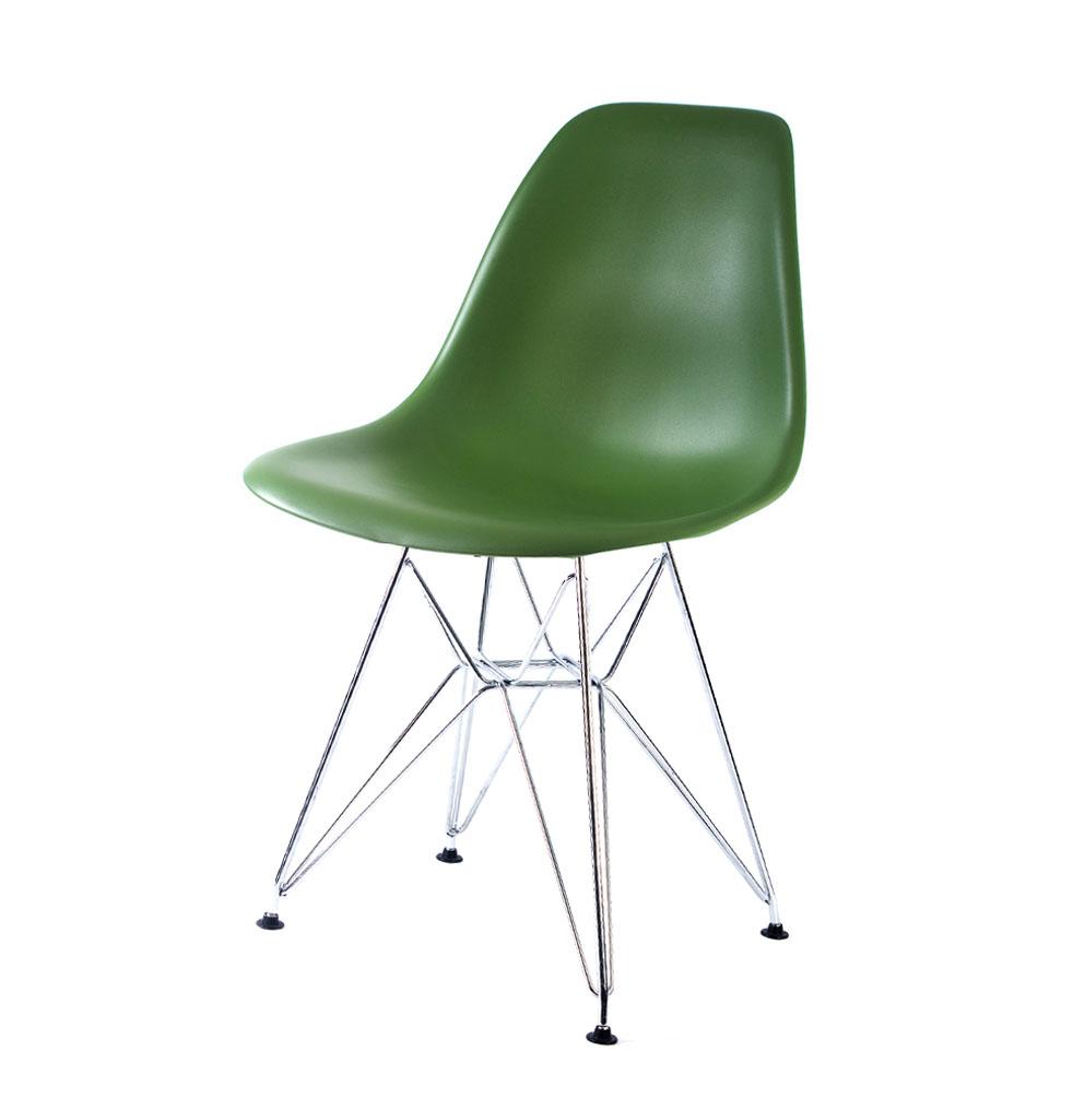 стул Eames DSR темно-зеленый