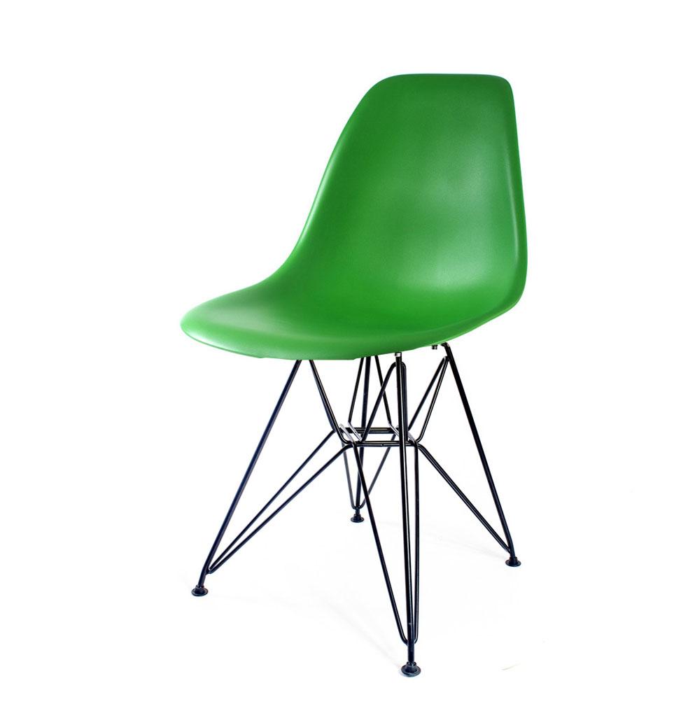 стул Eames DSR зеленый