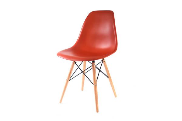 стул Eames DSW кирпичный