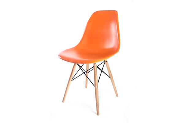 стул Eames DSW оранжевый