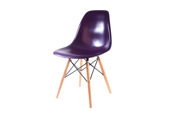 стул Eames DSW пурпурный