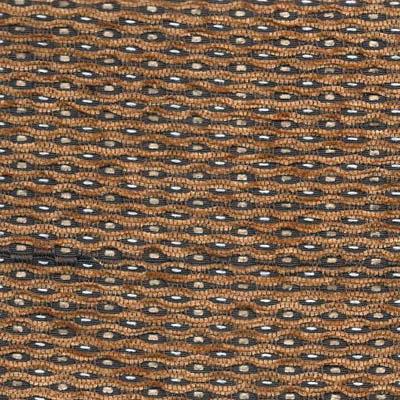 18. Ткань для обивки кухонного стула Шенилл мерц коричневый