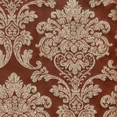 24. Ткань для обивки кухонного стула Жаккард андрис шоколад