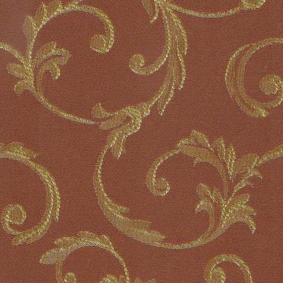 05. Ткань для обивки кухонного стула Жаккард пратто коричневый