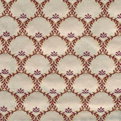 09. Ткань для обивки кухонного стула Жаккард ренессанс белый