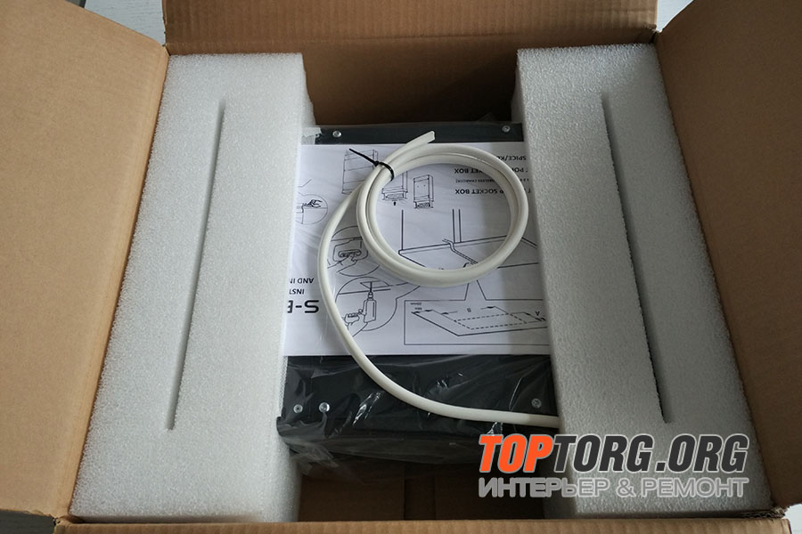 Встраиваемая выдвижная розетка Power box 2 SB-PS02SSEU