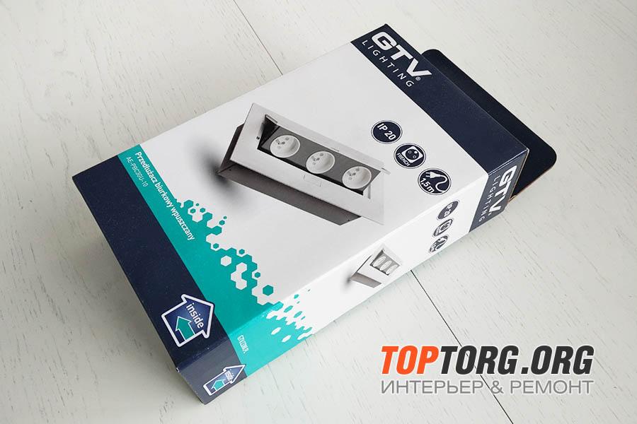 Выдвижная розетка GTV AE-PBC3GU-10