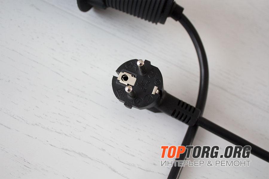 Выдвижная розетка в столешницу - GLS 3 euro черная